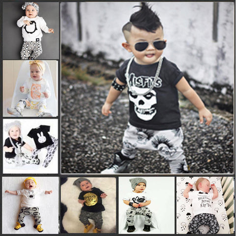 Stylish | Babys 2 PC Outfit | T-shirt and Pants Set