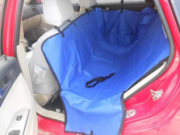 Hot Sale Back Double-Seated Pet  Dog Car Seat Cover Ajustable Waterproof Dog Seat Cover Hammock Quality Foldable Dog Car Mat