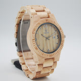 Unisex luxury brand lovers wooden Watches