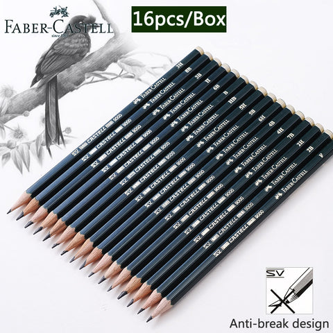 Faber Castell 16 Piece Art Pencil Set - For Sketching & Drawing