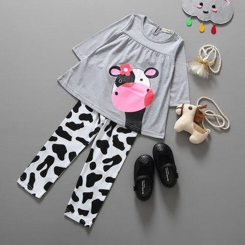 Baby Girls | 2PC Tunic and Leggings Outfit Set