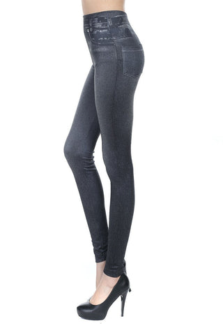 Ladies New 2016 Jeggings | Comfortable Denim Print with Back Pockets