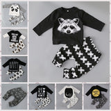 Fashion | Three-Quarter Sleeve 2PC Babys Outfit | T-shirt and Pants Set
