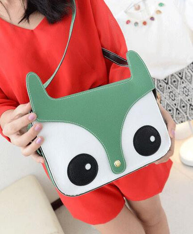 Owl leather Designer Shoulder Bag