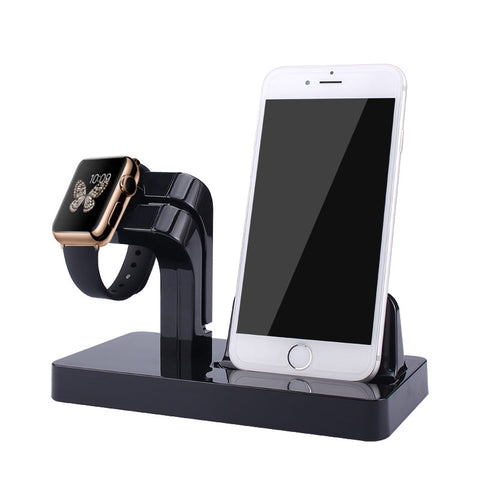 Charging Stand | Docking Station For iPhone Apple Watch 38mm 42mm and Iphone
