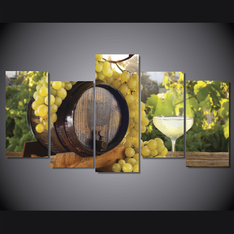 Wine Lovers Wall Art White