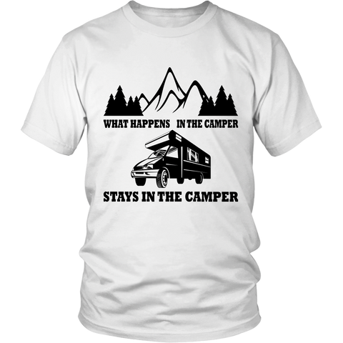 What Happens In The Camper T Shirt