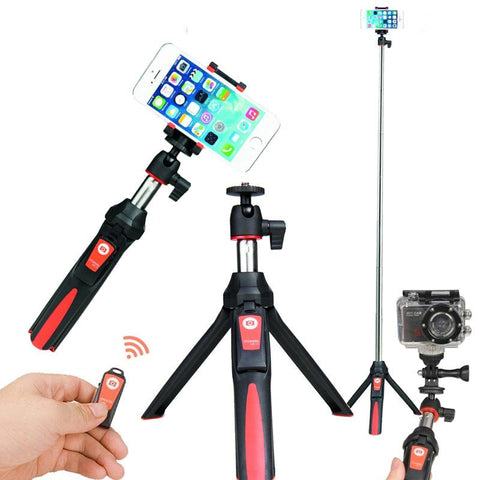 Blue Tooth Tripod + Selfie Stick