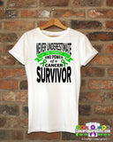 Adrenal Cancer Never Underestimate Strength Shirts