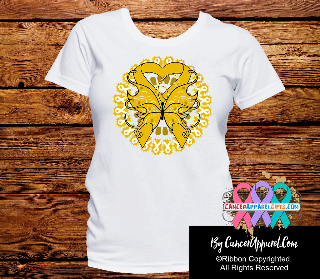 Appendix Cancer Stunning Butterfly Shirts