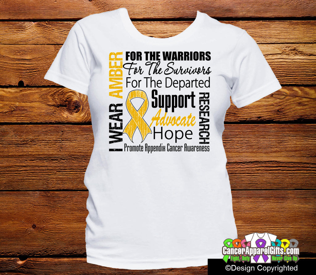 Appendix Cancer Tribute Shirts