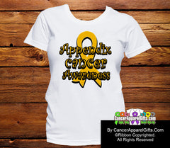 Appendix Cancer Awareness Ribbon Shirts