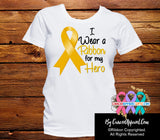 Appendix Cancer For My Hero Shirts - Cancer Apparel and Gifts