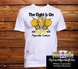 Appendix Cancer The Fight is On Men/Unisex Shirts