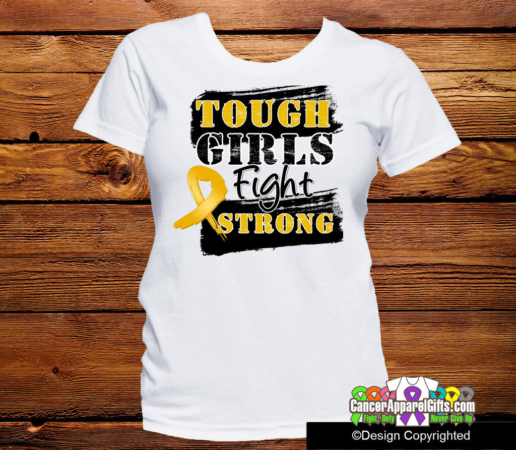 Appendix Cancer Tough Girls Fight Strong Shirts
