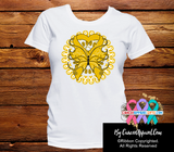 Appendix Cancer Stunning Butterfly Shirts - Cancer Apparel and Gifts