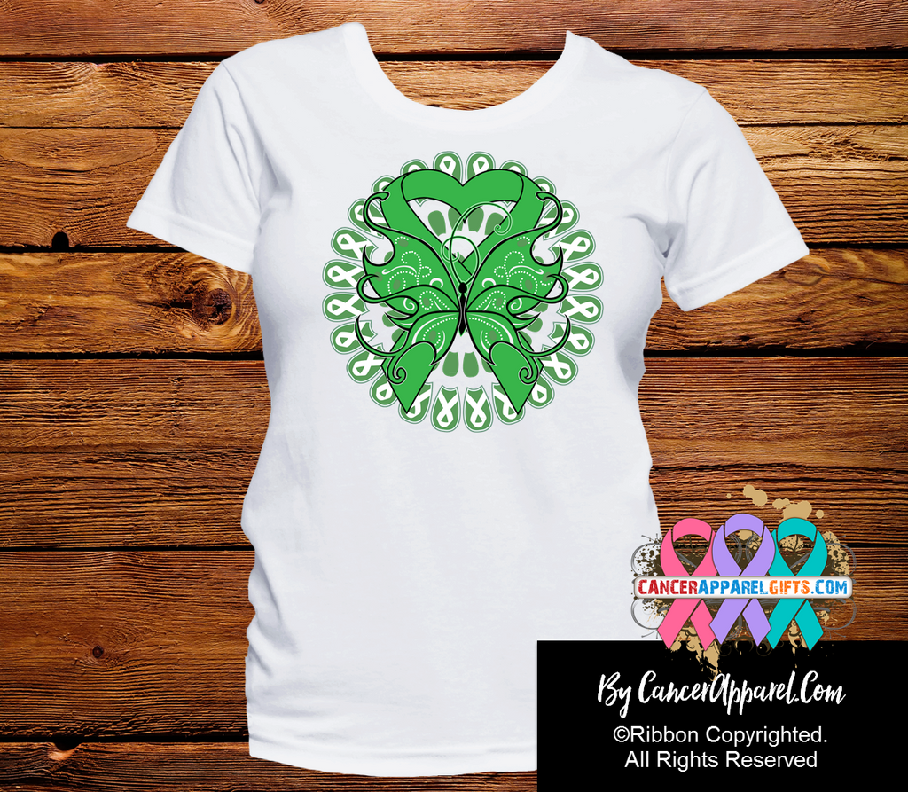 Bile Duct Cancer Stunning Butterfly Shirts