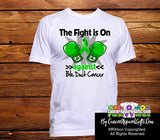 Bile Duct Cancer The Fight is On Men Shirts