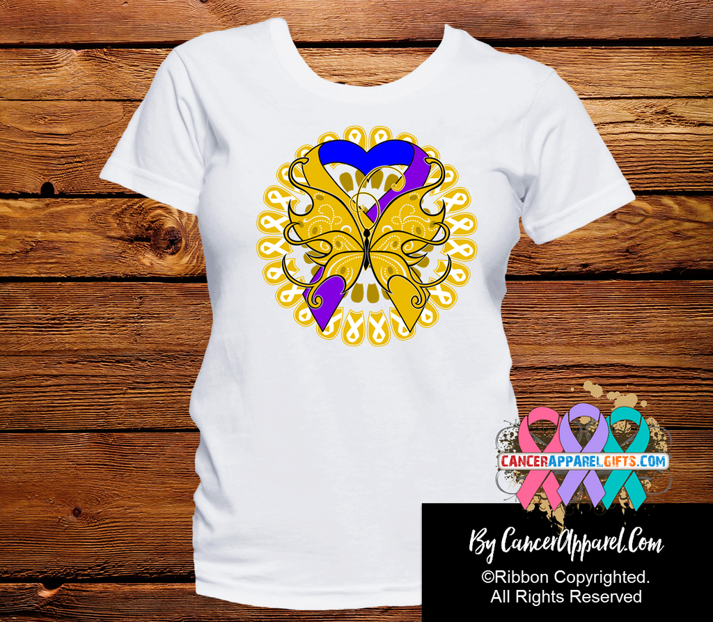 Bladder Cancer Stunning Butterfly Shirts