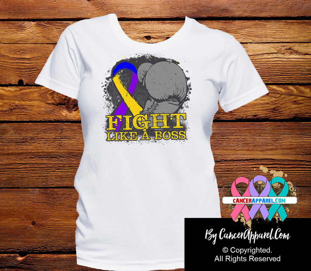 Bladder Cancer Fight Like a Boss Shirts