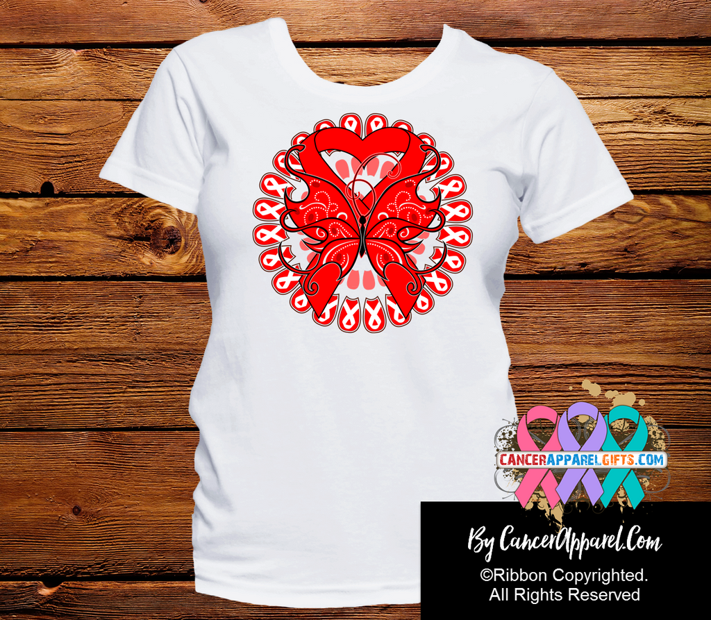 Blood Cancer Stunning Butterfly Shirts
