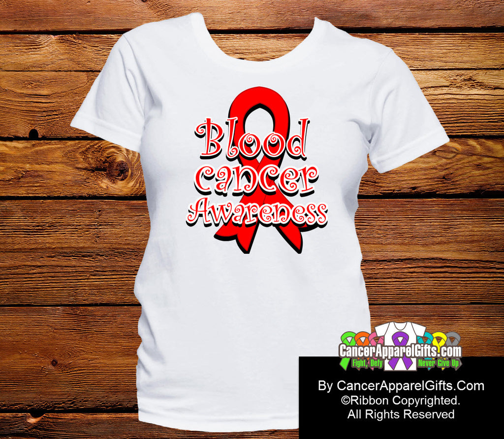 Blood Cancer Awareness Ribbon Shirts