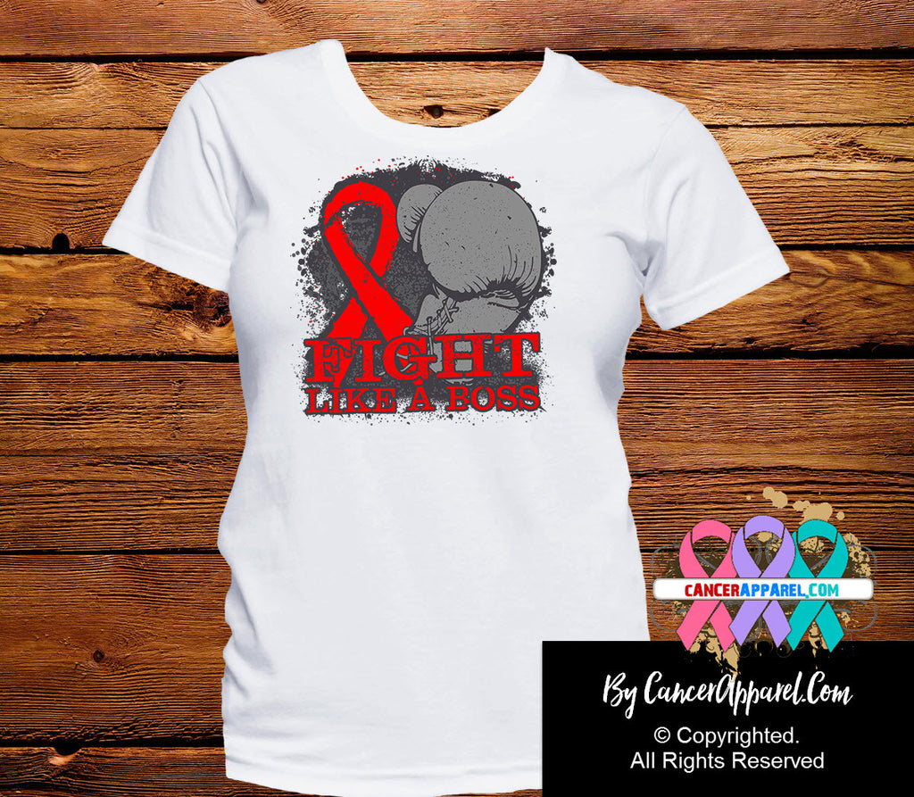 Blood Cancer Fight Like a Boss Shirts