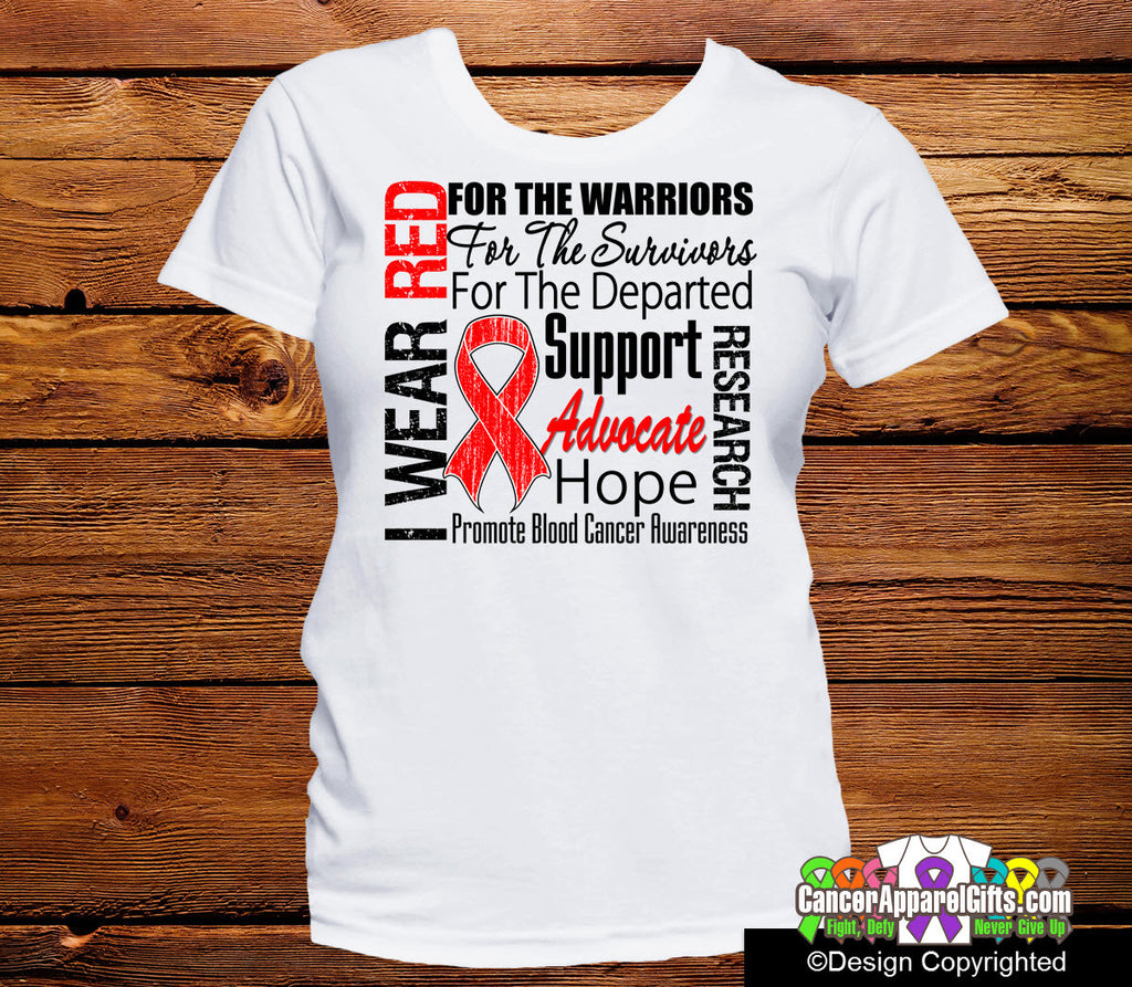 Blood Cancer Tribute Shirts