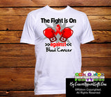 Blood Cancer The Fight is On Men Shirts