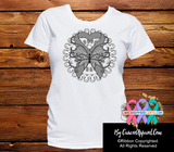 Brain Cancer Stunning Butterfly Shirts - Cancer Apparel and Gifts