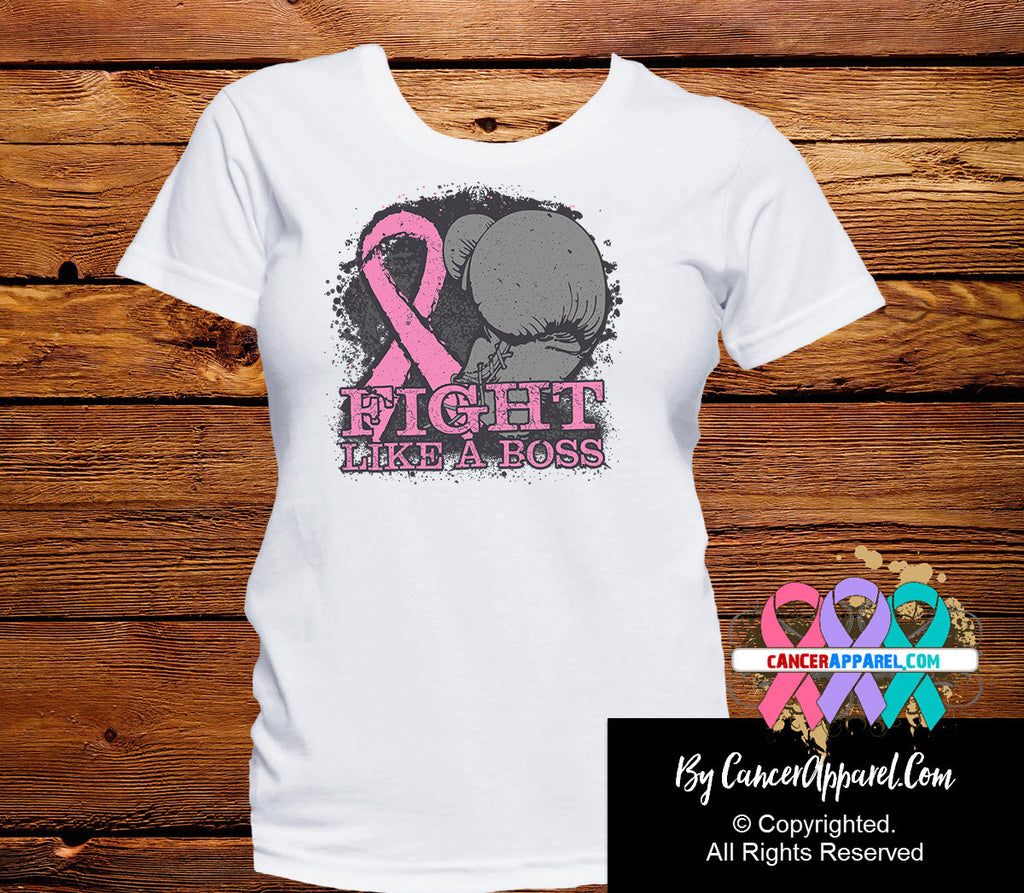 Breast Cancer Fight Like a Boss Shirts