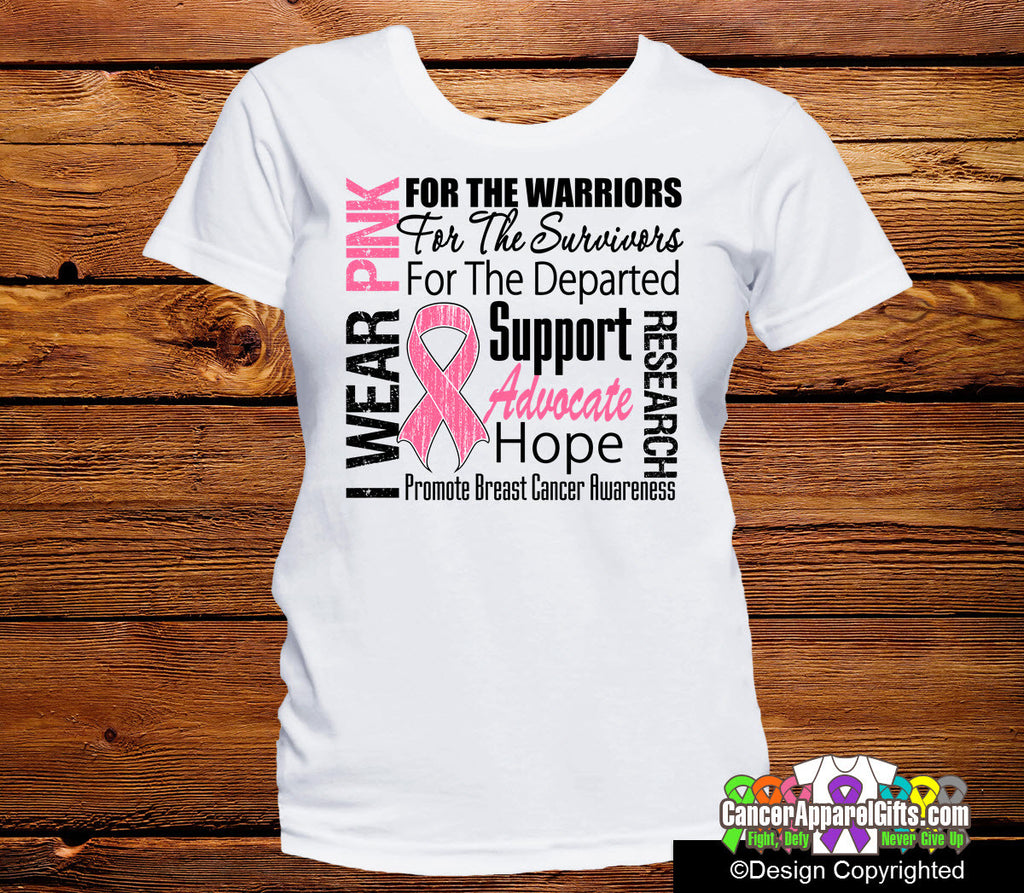 Breast Cancer Tribute Shirts