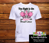 Breast Cancer The Fight is On Men Shirts