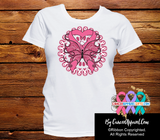 Breast Cancer Stunning Butterfly Shirts - Cancer Apparel and Gifts