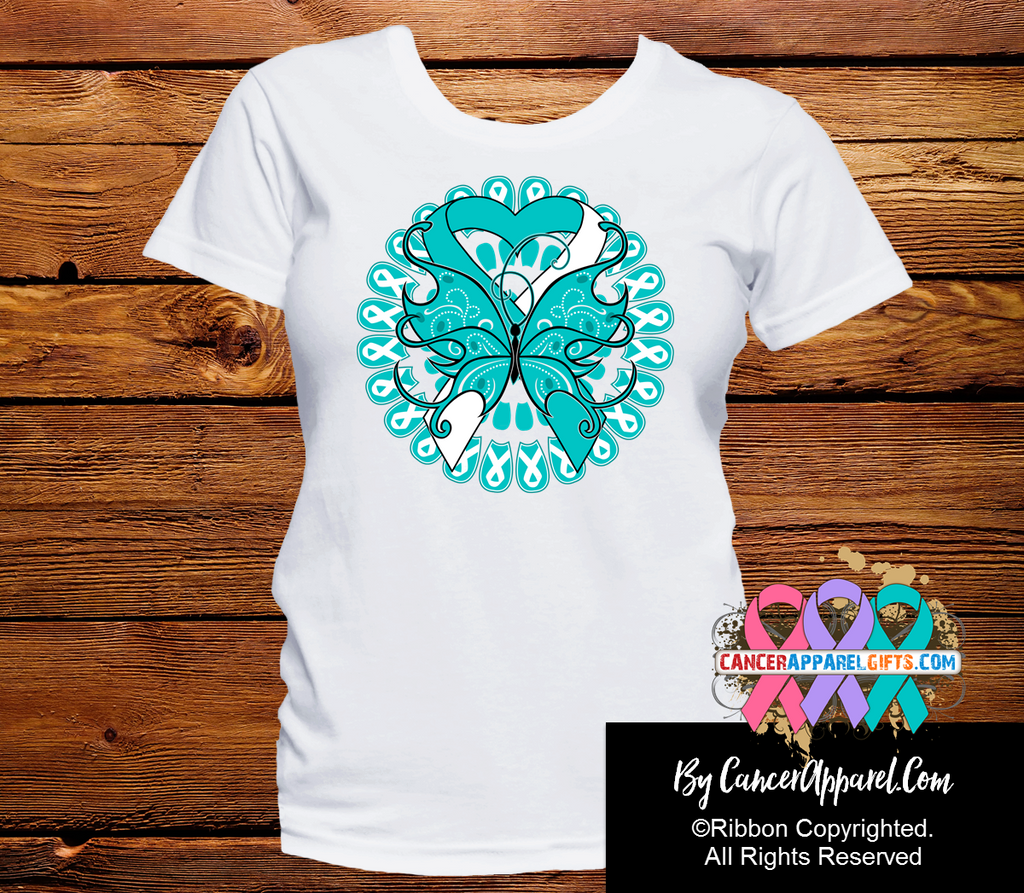 Cervical Cancer Stunning Butterfly Shirts