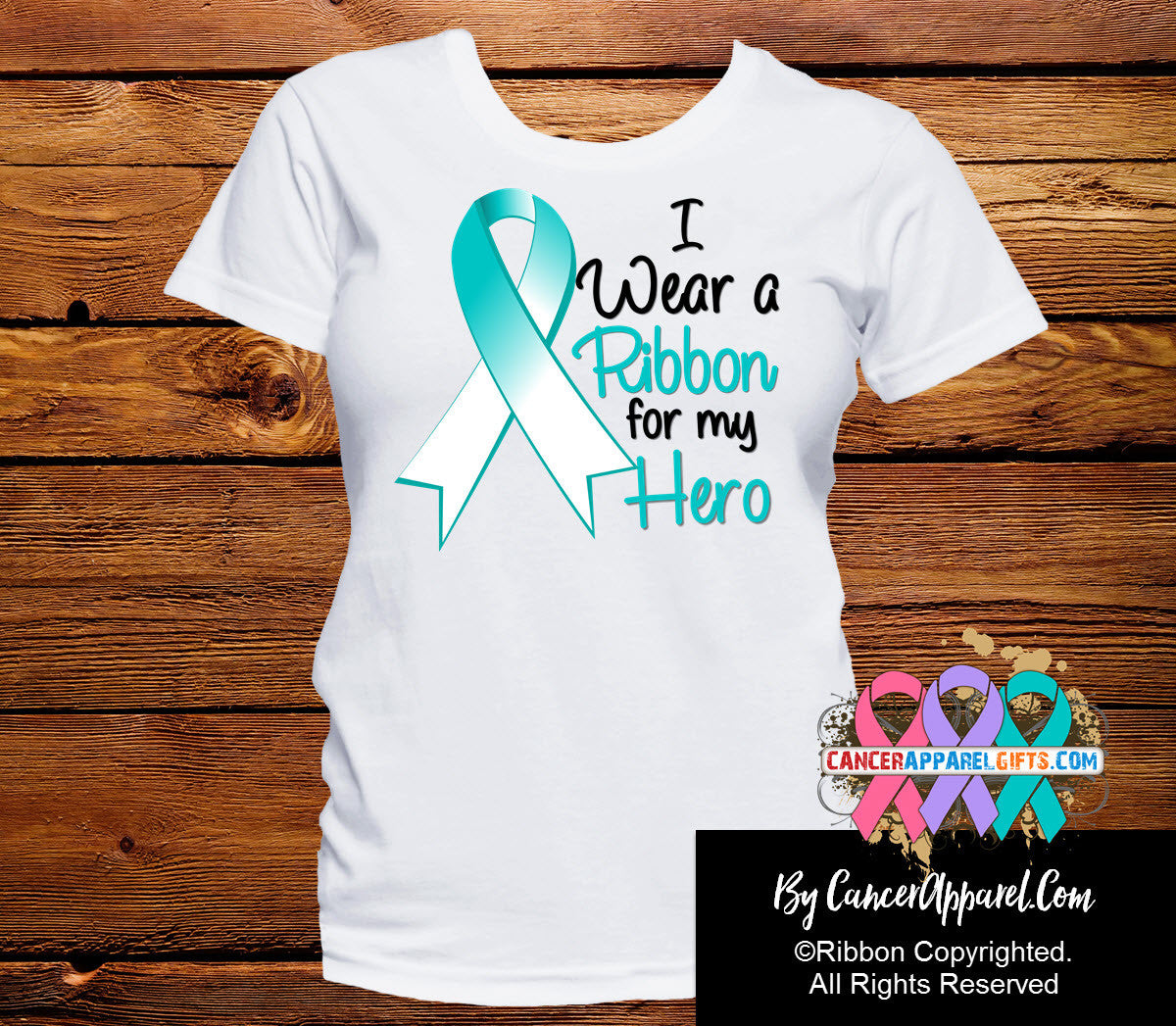 Cervical Cancer For My Hero Shirts - Cancer Apparel and Gifts