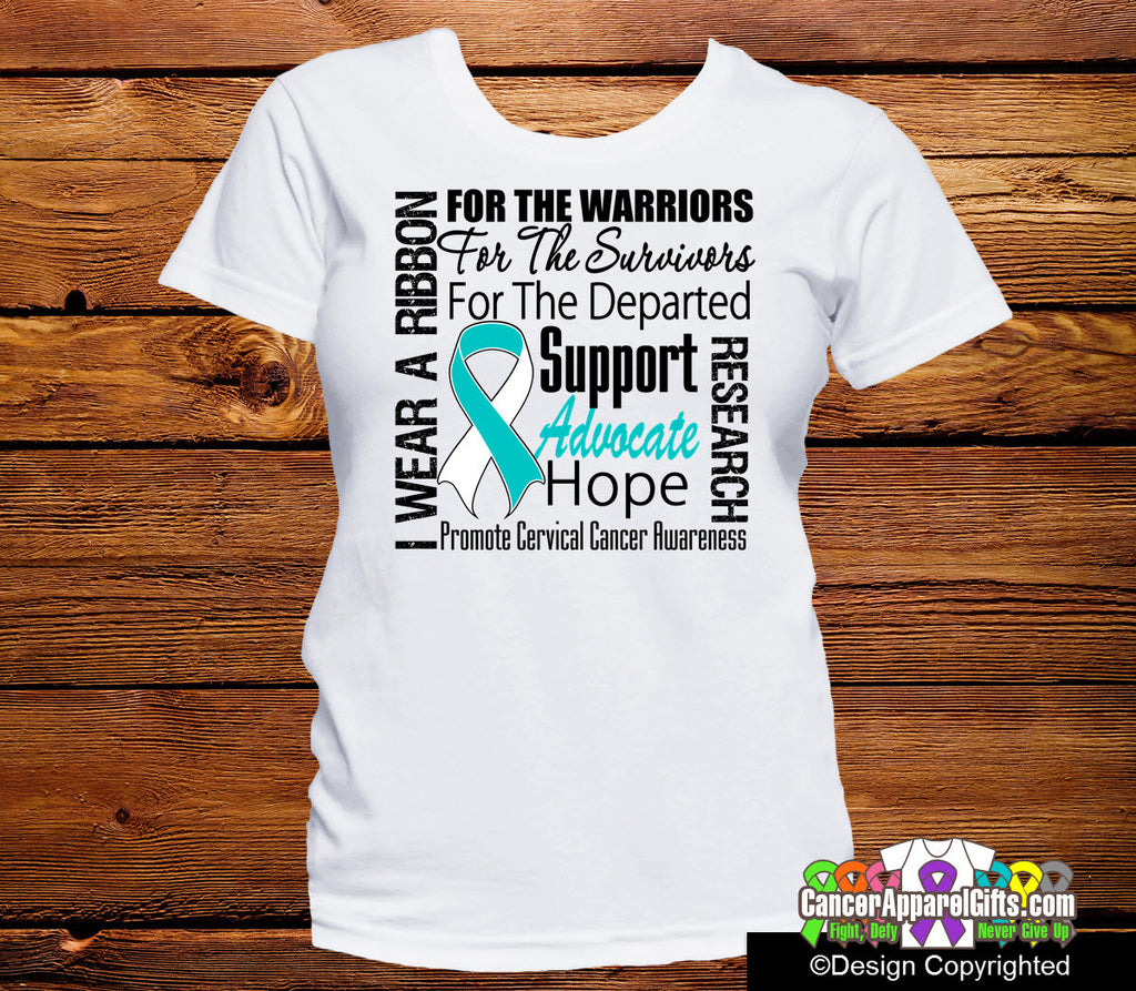 Cervical Cancer Tribute Shirts