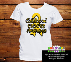 Childhood Cancer Awareness Ribbon Shirts