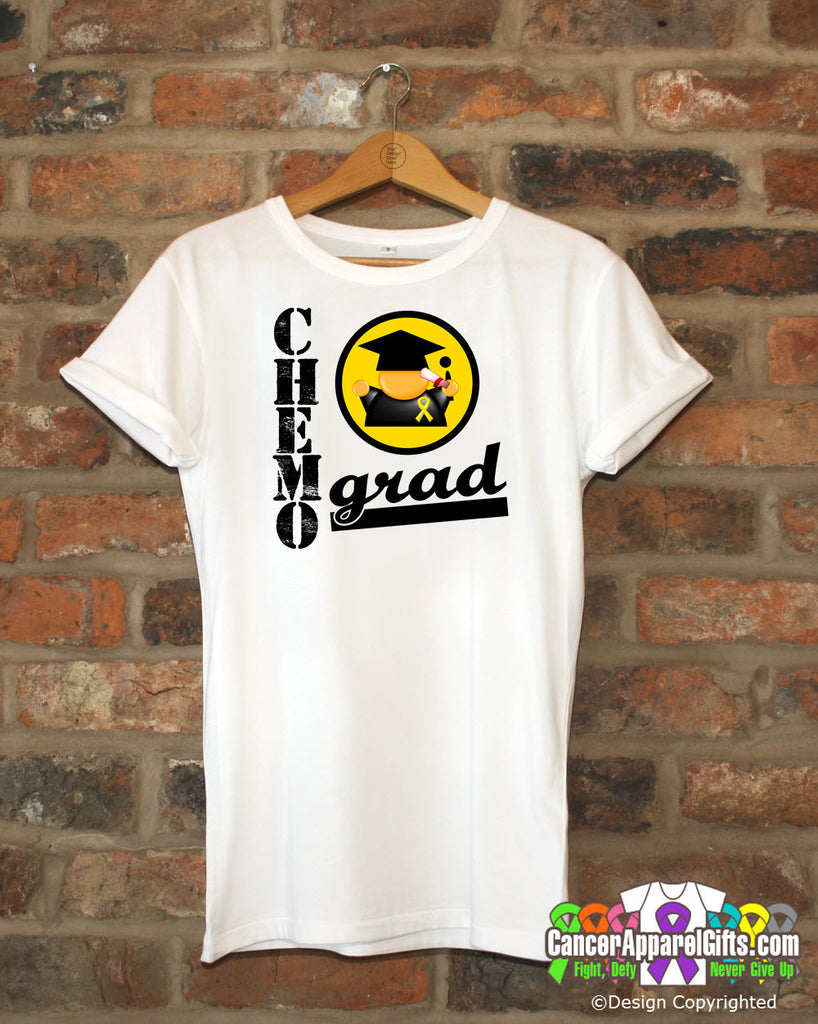Childhood Cancer Chemo Grad Shirts