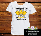 Childhood Cancer The Fight is On Shirts