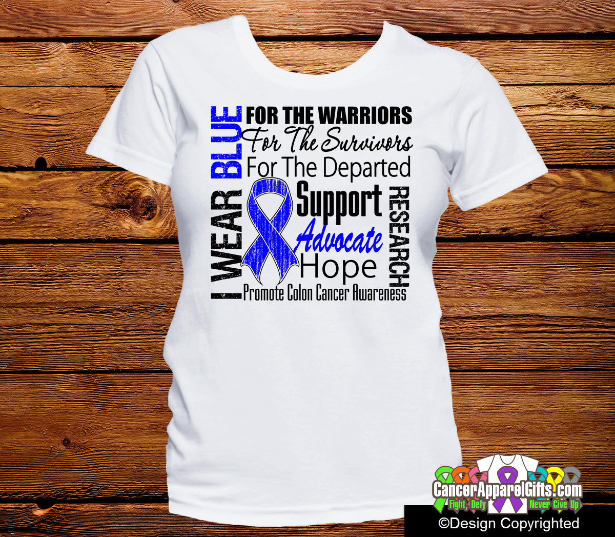 Colon Cancer Tribute Shirts