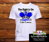 Colon Cancer The Fight is On Men Shirts