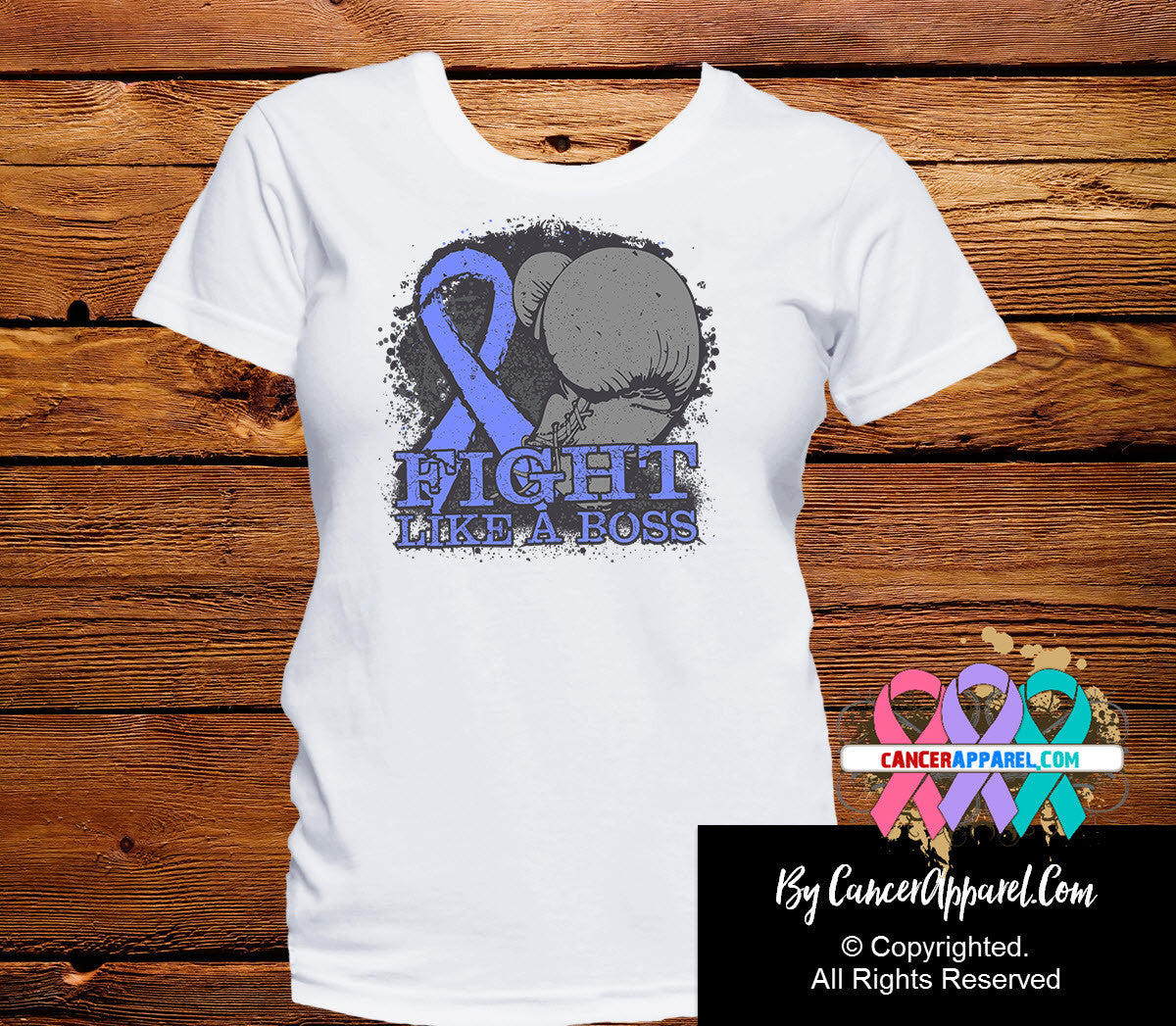 Esophageal Cancer Fight Like a Boss Shirts