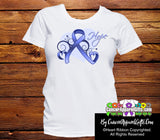 Esophageal Cancer Heart of Hope Ribbon Shirts
