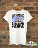 Esophageal Cancer Never Underestimate Strength Shirts