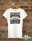 Ewings Sarcoma Never Underestimate Strength Shirts