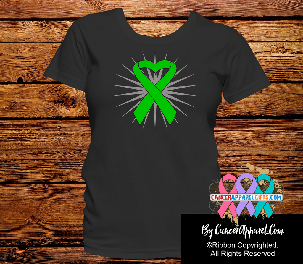 Bile Duct Cancer Heart Ribbon Shirts