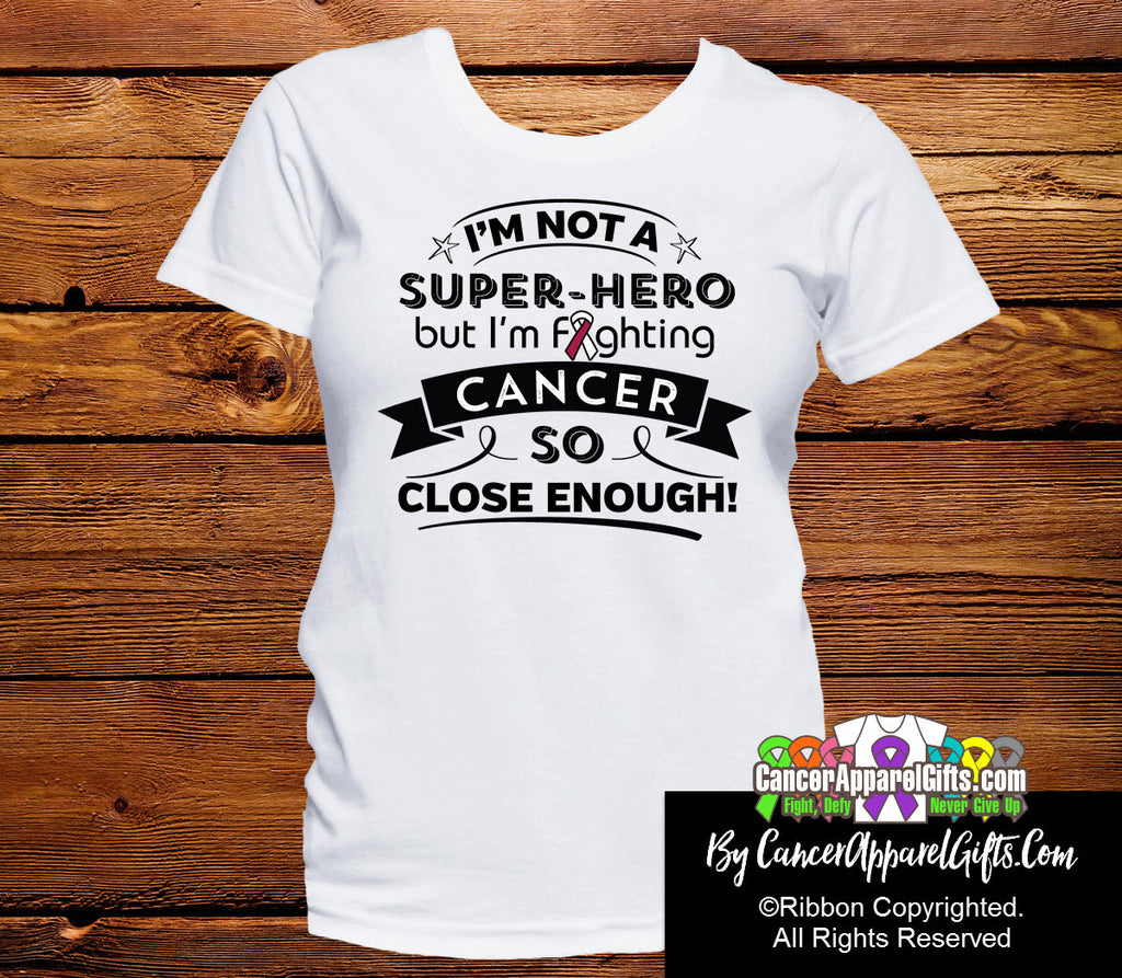 Head Neck Cancer Not a Super-Hero Shirts