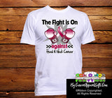 Head and Neck Cancer The Fight is On Men Shirts