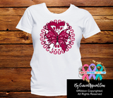 Head Neck Cancer Stunning Butterfly Shirts - Cancer Apparel and Gifts
